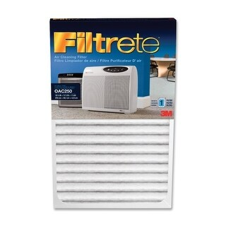 "Filtrete OAC250RF Filtrete Replacement Air Filter - 1.6"" Height x 11.88"" Width x 18.75"" Length - White"
