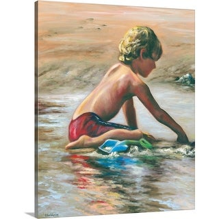 """""""Scraping the Surface"""" Canvas Wall Art"""