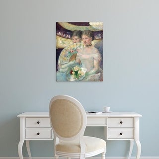 Easy Art Prints 's 'The Loge' Premium Canvas Art
