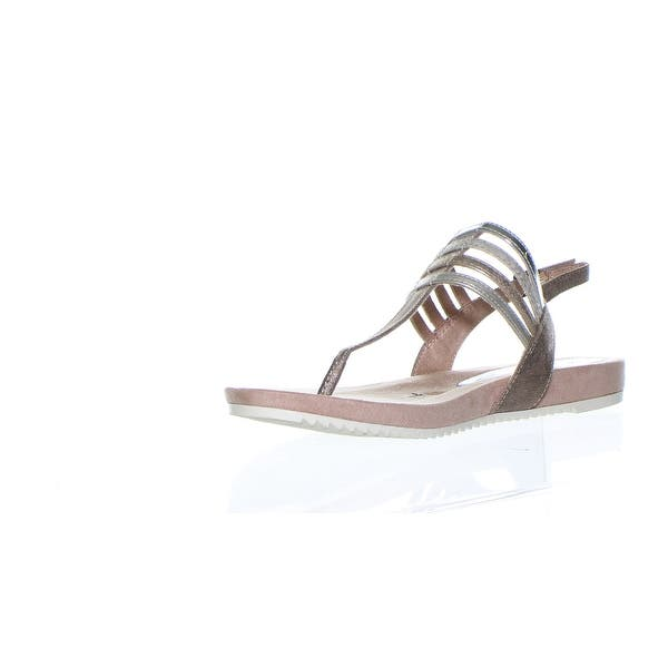 Tamaris Womens Pepper Comb Multi T Strap Sandals Size 8 5 Overstock 30231369