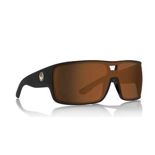 Dragon Alliance Hex Matte Black Frame with Bronze Lens Sunglasses