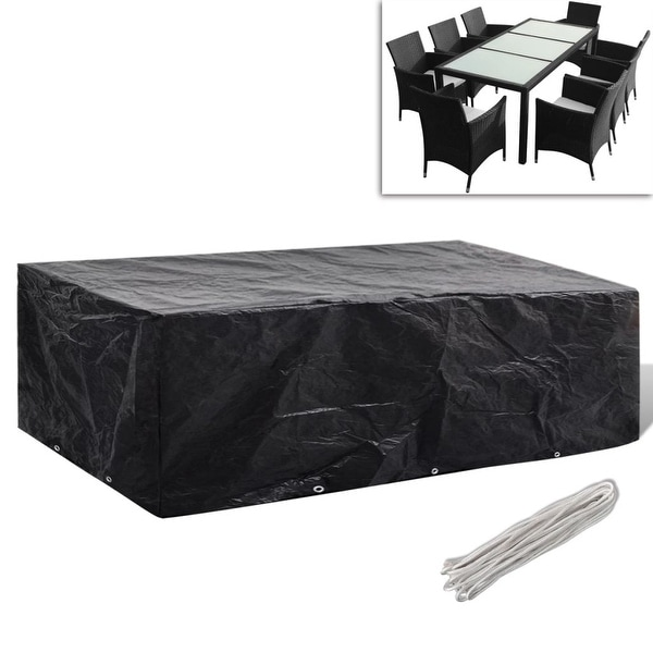 Awesome Shop Rectangular Furniture Cover Outdoor Patio Table Chairs Download Free Architecture Designs Sospemadebymaigaardcom
