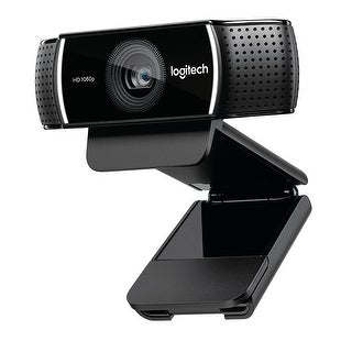Logitech 960-001176 C922 Pro Stream Webcam - Background Replacement + Tripod