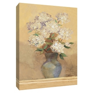 """PTM Images 9-154636  PTM Canvas Collection 10"""" x 8"""" - """"Summer Hydrangea II"""" Giclee Hydrangeas Art Print on Canvas"""
