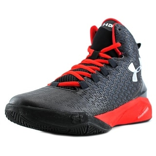 Under Armour BGS Clutchfit Drive 3 Youth Synthetic Black Basketball Shoe