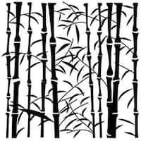 """Bamboo - Crafter's Workshop Template 6""""X6"""""""