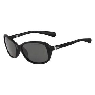 Nike EV0741-001 Sunglasses Poise Black Frame Gray Lens
