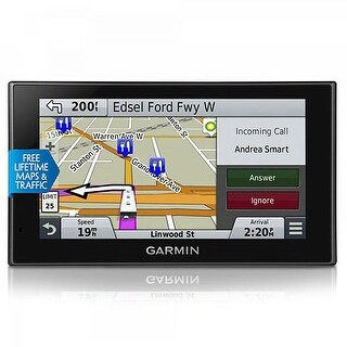 Garmin RV 660LMT GPS Vehicle Navigation System w/ Free Lifetime Map Updates & FM Traffic Included
