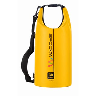 Wacces Heavy Duty Durable Waterproof Dry Bag for Kayaking, Rafting, Boating, Swimming, Hiking 30 Liter
