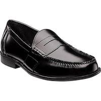 Nunn Bush Men's Kent Loafer Black Leather