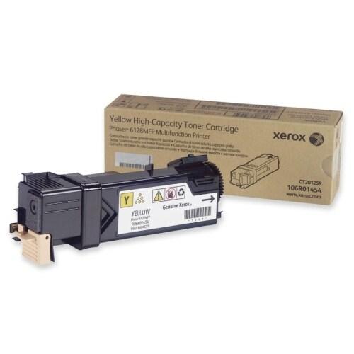 Xerox 106R01454 Xerox Yellow Toner Cartridge - Yellow - 1 Each