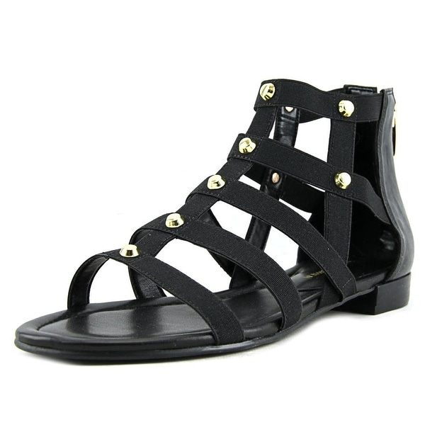 Marc Fisher Pammy Women Open Toe Canvas Gladiator Sandal