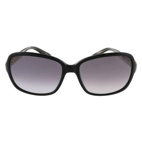 Salvatore Ferragamo SF606S 001 Black Rectangular sunglasses - 58-17-130