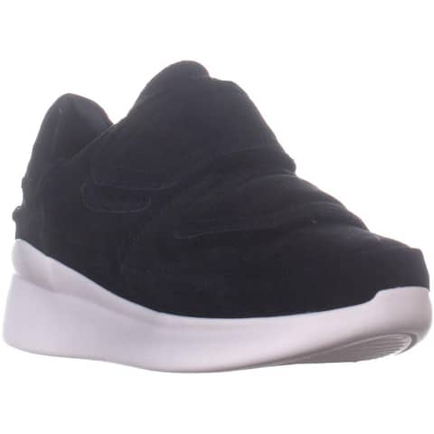 UGG Ashby Spill Seam Sneakers, Black Suede - 6.5 US / 37.5 EU
