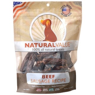 Link to Loving Pets Natural Value Beef Sausages 14 oz Similar Items in Dog Food & Treats