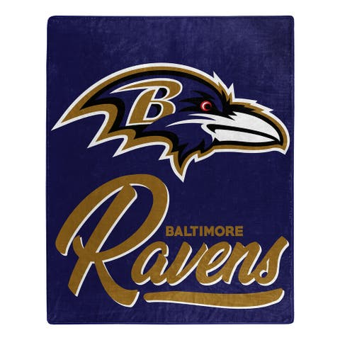NFL 070 Ravens Signature Raschel