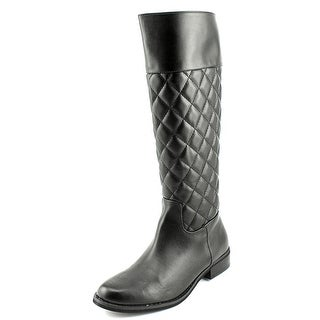 Mia Coraline Women Pointed Toe Synthetic Black Knee High Boot