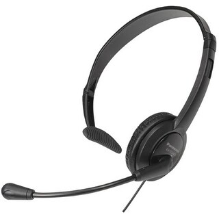 Panasonic KX-TCA400 Over the head Hands-Free Headset with noise canceling mic