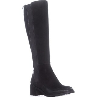 Nina Original Time Tall Riding Boots, Black Glazed - 7 us / 37 eu