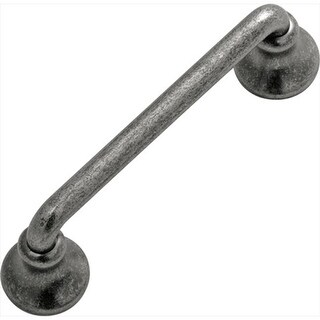 Hickory Hardware P2240-BNV 3 In. Savoy Black Nickel Vibed Cabinet Pull