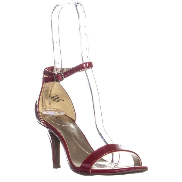 f612f36d91 ... Women's Shoes; /; Women's Heels. Bandolino Madia Ankle Strap Peep Toe  Sandals, Red - 7.5 us