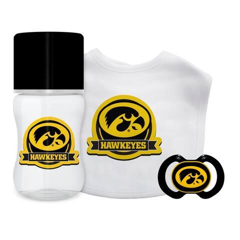 Iowa Hawkeyes Baby Gift Set 3 Piece