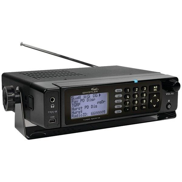 WHISTLER TRX-2 Desktop DMR/MotoTRBO(TM) Digital Trunking Scanner