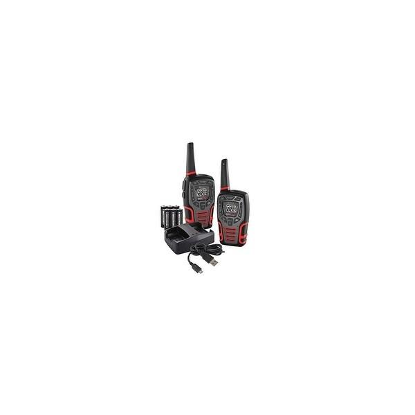 Cobra CXT545 Rugged Walkie Talkie 28-Mile 22-Channel 2-Way Radios Pair Manufacturer Refurbished