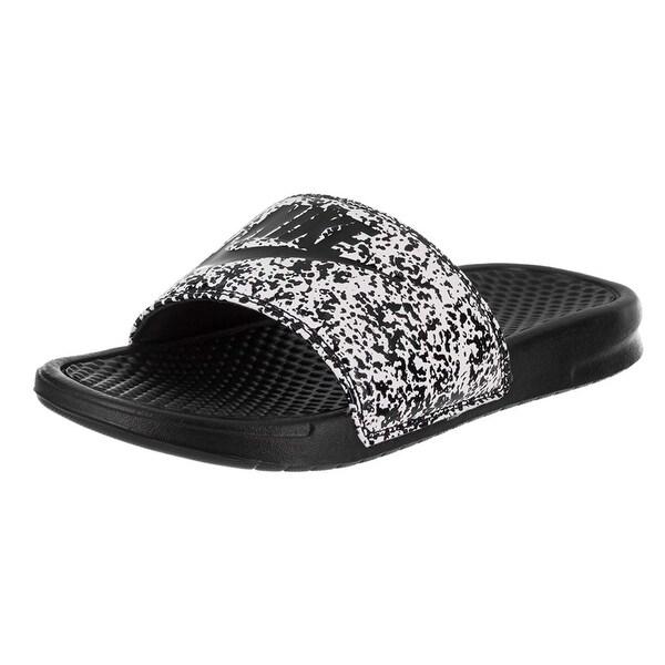 8ae6f069125529 Shop Nike 631261-100  Men s Benassi Just Do It Slide Sandal (8 D(M ...