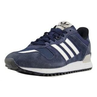 Adidas ZX 700 Men  Round Toe Leather Blue Running Shoe