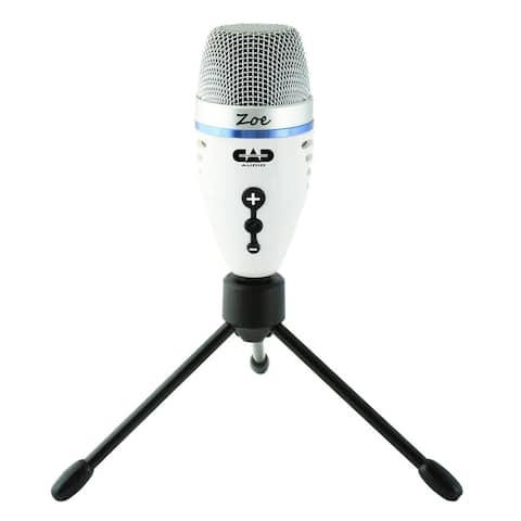 CAD Audio ZOE USB Condenser Microphone with TrakMix Headphone Output