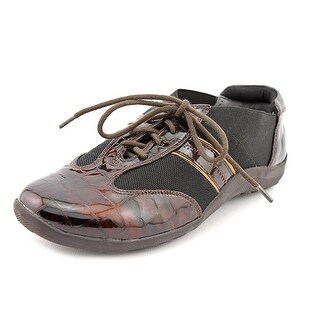 Ros Hommerson Nancy SS Round Toe Patent Leather Sneakers