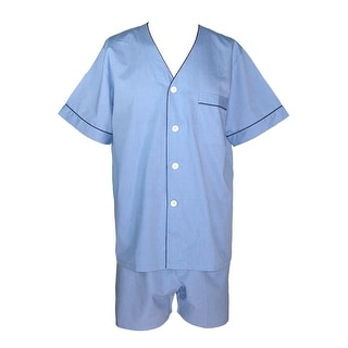 Majestic International Men's Cotton Short Sleeve / Short Leg Pajama Set
