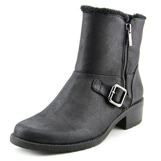 Anne Klein Lyvia Women Round Toe Synthetic Ankle Boot