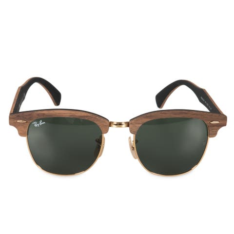 debbce64b45a Ray-Ban Clubmaster Wood Sunglasses RB3016M 1181 51