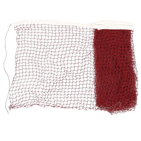 Unique Bargains Unique Bargains 6 x 0.7M Nylon Badminton Net Burgundy for Badminton Training