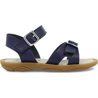 Umi Girls' Celia Sandal Navy Leather