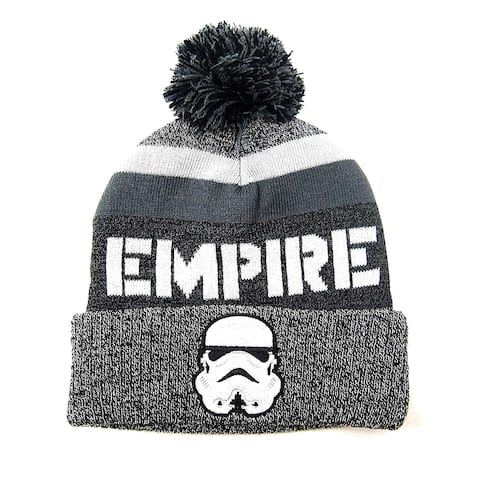 Star Wars Stormtrooper Empire Cuff Pom Beanie