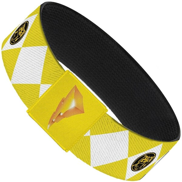 Diamond Yellow Ranger Elastic Bracelet