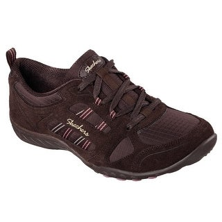 Skechers 22544 CHOC Women's BREATHE EASY - GOOD LUCK Oxford