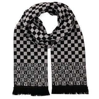 Versace IT00628 100% Wool Mens Scarf - 14-72