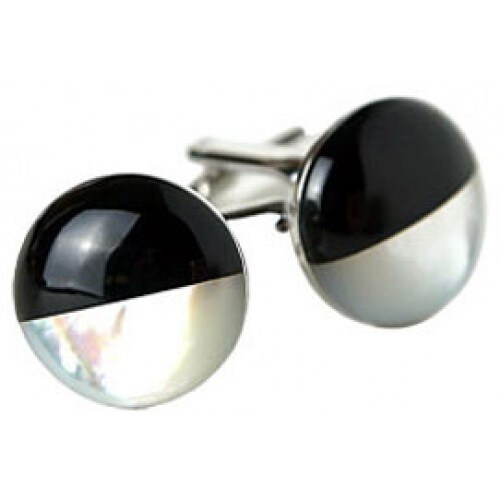 Black and White Cookie Cufflinks