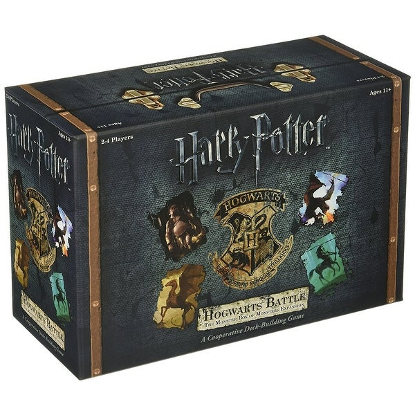 Harry Potter Hogwarts Battle: The Monster Box of Monsters Card Game Expansion - multi