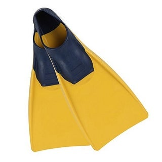 U.S. Divers Unisex Sea Lion Fin, Yellow/Blue, Md 7-8 - md 7-8