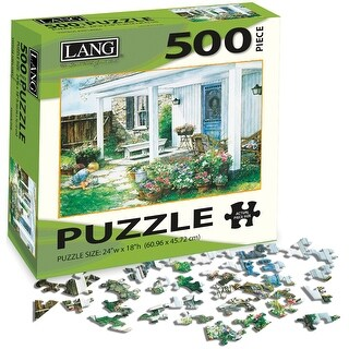 """Jigsaw Puzzle 500 Pieces 24""""X18""""-A Potted Garden"""