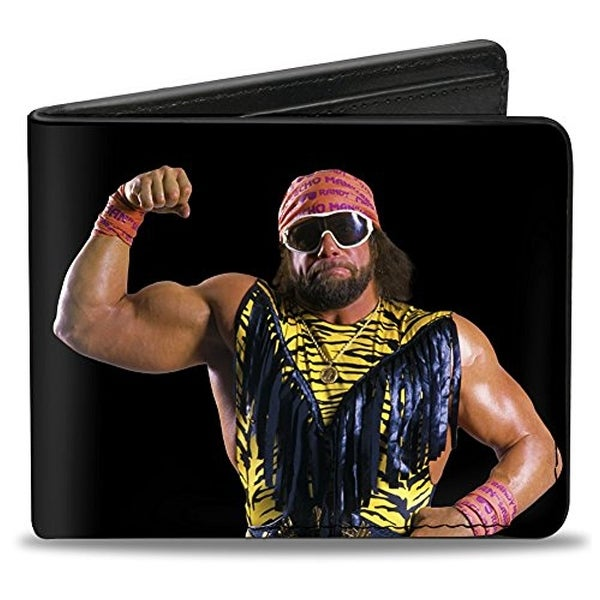 Buckle-Down Bifold Wallet WWE Macho Man Randy Savage