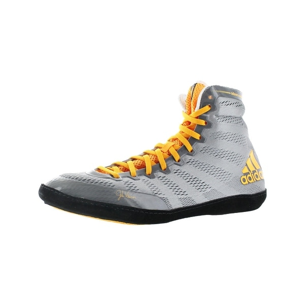 Adidas Mens Adizero Wrestling XIV Wrestling Shoes Lightweight Lace-Up