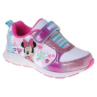 Josmo Girls Minni Mouse Sneakers, White Multi (4 options available)