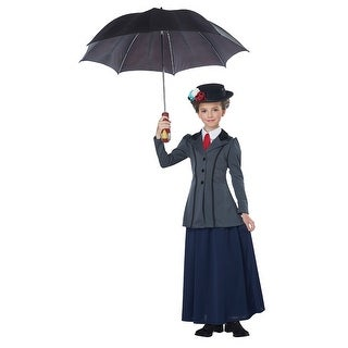 Girls English Nanny Mary Poppins Disney Costume