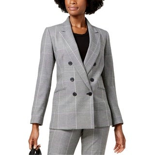 Link to Nine West Womens Monet Garden Double Breasted Blazer Jacket Similar Items in Suits & Suit Separates